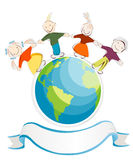 Children of the world Royalty Free Stock Photo