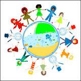 Children world Stock Photo