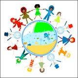 Children world stock photo