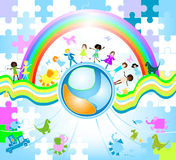 Children world Stock Images