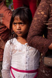 CHILDREN OF THE WORLD: girl in Indonesia Royalty Free Stock Image