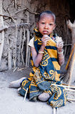 CHILDREN OF THE WORLD: Girl, Tanzania Stock Images