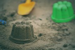 Children& x27;s beach toys Royalty Free Stock Photography
