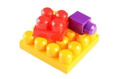 Children's colorful plastic designer Stock Photo