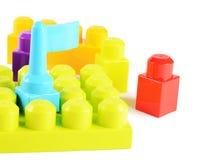 Children's colorful plastic designer Royalty Free Stock Images