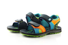 Children's footwear Stock Photos