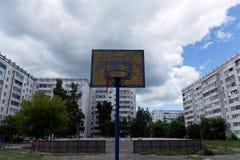 Children& x27; s koszykówki osłona Obrazy Stock