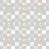 Children& x27; s-Muster mit Quadraten 2 Lizenzfreie Stockbilder