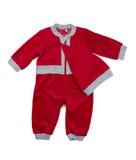 Children's Santa suit, isolate Royalty Free Stock Photo