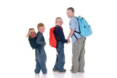 Children, Xmas break Stock Photography