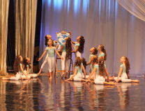 Children young ballerina Royalty Free Stock Images