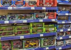 Children zabawkarscy samochody obraz stock