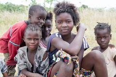 Children in Zambia Royalty Free Stock Photography
