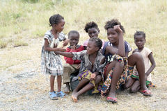 Children in Zambia Royalty Free Stock Images
