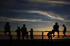 Childrenat a praia Foto de Stock Royalty Free