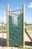 Childrens Adventure Playground Wall Climb Royalty Free Stock Photography