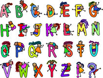 Childrens Alphabet Royalty Free Stock Images