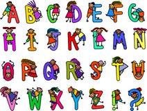Childrens Alphabet Royalty Free Stock Photo
