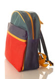Childrens backpack Royalty Free Stock Photo