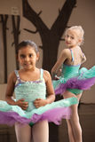 Childrens Ballet Practice Royalty Free Stock Photography