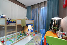 Childrens bedroom Stock Image