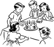 Childrens Birthday Party Stock Images