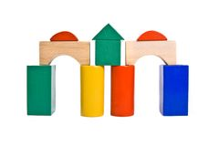 Childrens blocks Stock Photos