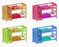 Childrens bunk beds Stock Photos