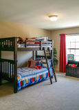 Childrens Bunk Beds Royalty Free Stock Image