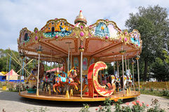 Childrens carousel fragments. 