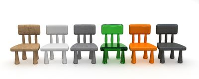 Childrens chair Stock Photos