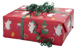 Childrens Christmas Present Royalty Free Stock Photography