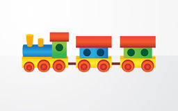 Childrens color toy Stock Image