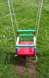 Childrens colorful swing Royalty Free Stock Photos