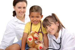 Childrens doctor Royalty Free Stock Photography