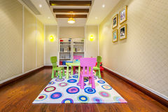 Childrens entertainment room apartment Royalty Free Stock Images