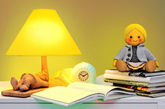 Childrens fairy tale for the night. Stock Photography