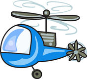 CHILDRENS HELICOPTER Stock Photo