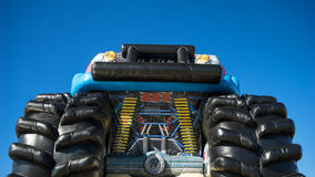 Childrens inflatable monster truck Royalty Free Stock Photography
