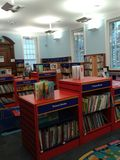 Childrens library. At Chelsea Kings Road Royalty Free Stock Photos