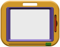 Childrens Magnet Board For Drawing stock illustration