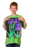 Childrens paintings Royalty Free Stock Images