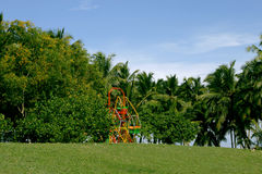 Childrens\' park. A new and lush green childrens\' park, India Stock Photos