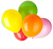 Childrens party balloons Royalty Free Stock Photos