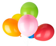 Childrens party balloons Royalty Free Stock Photo