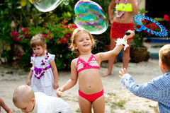 Childrens party Stock Images
