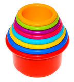 Childrens Play Cups Royalty Free Stock Photos