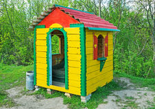 Childrens play house Royalty Free Stock Images