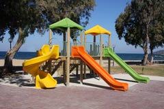 Childrens Playground stock photo