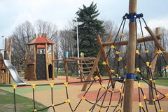 Childrens playground Stock Images